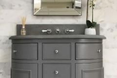 atom grey marble bathroom tiles