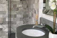 atom grey marble bathroom