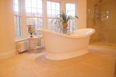 limestone bathroom flooring 2