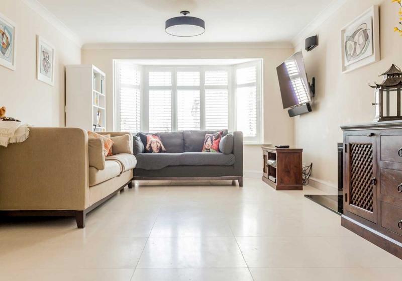 Rochelle Limestone Flooring Living Room