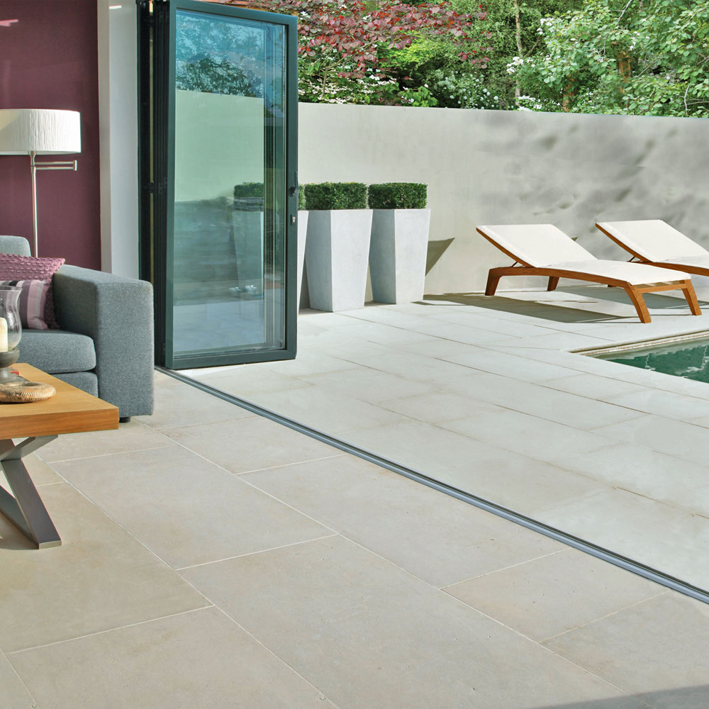 Bringing the outside in and the inside out with limestone floor bringing the outside in and the inside out with limestone floor tiles dailygadgetfo Gallery