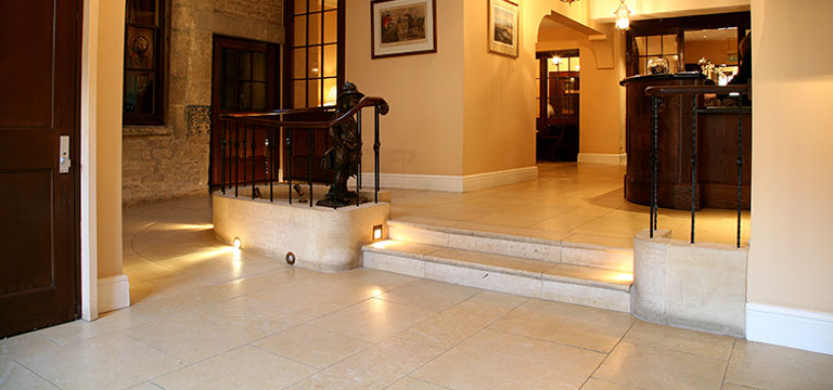 Stone Flooring in Commercial Projects module