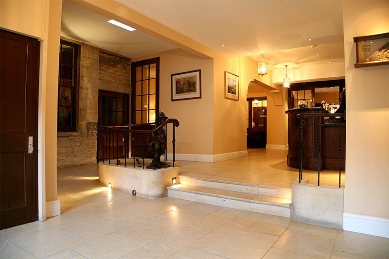 Stone Flooring in Commercial Projects