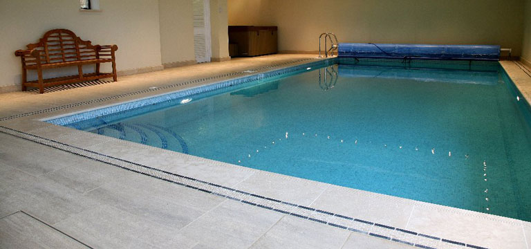 Stone Types in the Pool Area module