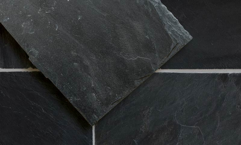 Buckminster riven slate flooring