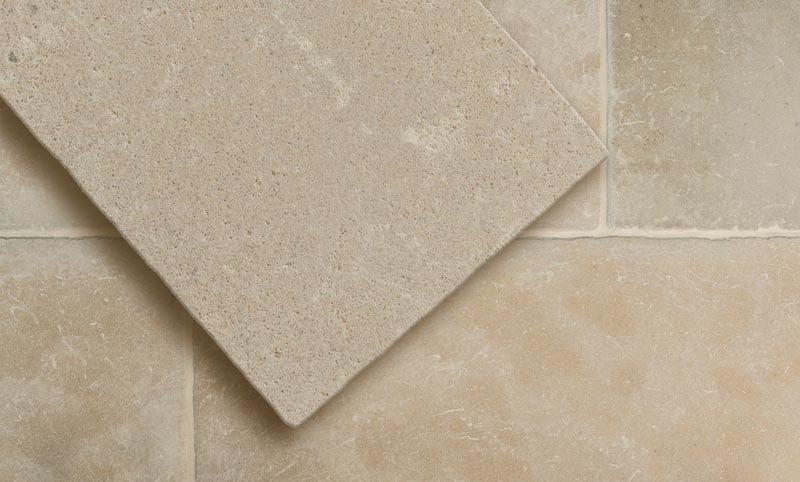 normandy buff limestone flooring