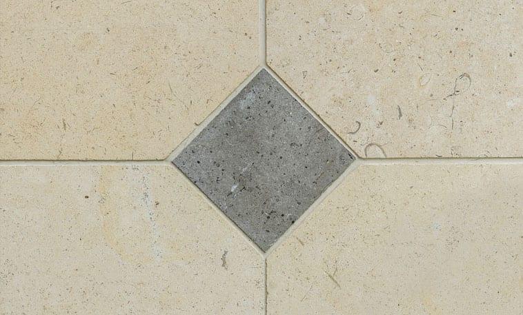 Walcott corner limestone flooring