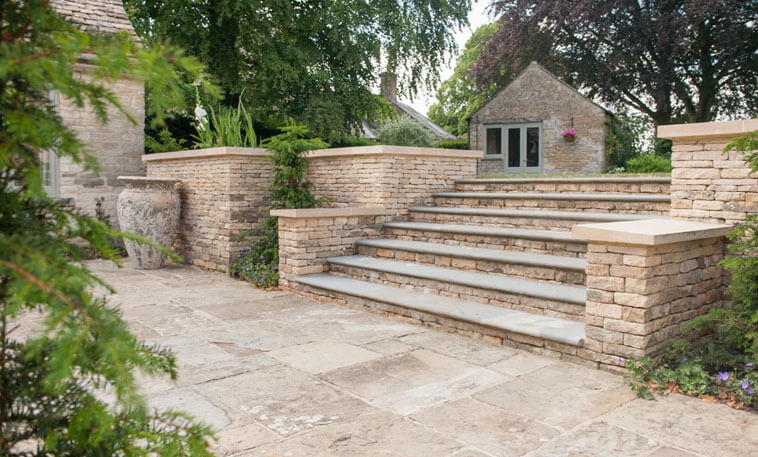 exterior limestone flooring