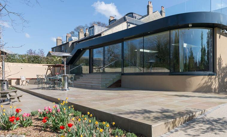Lincolnshire limestone patio