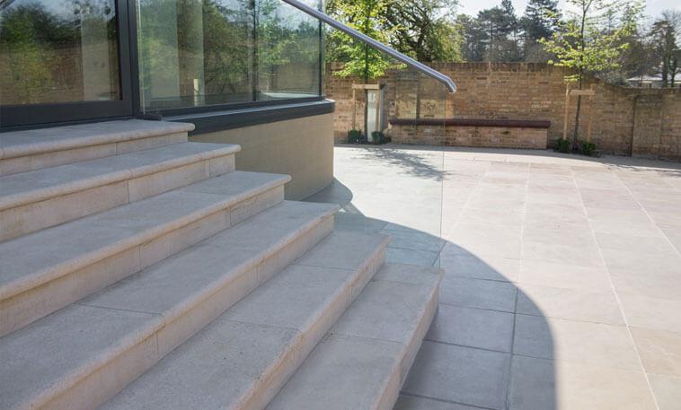stamford stone exterior stone staircase