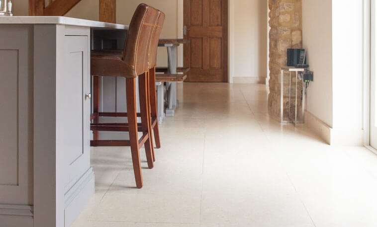 contemporary stone kitchen flooring