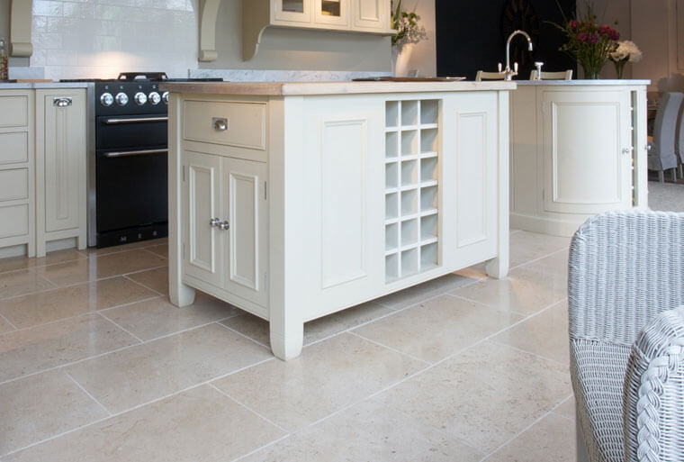 Stone Flooring for Kitchens with limestone kitchen floor tiles
