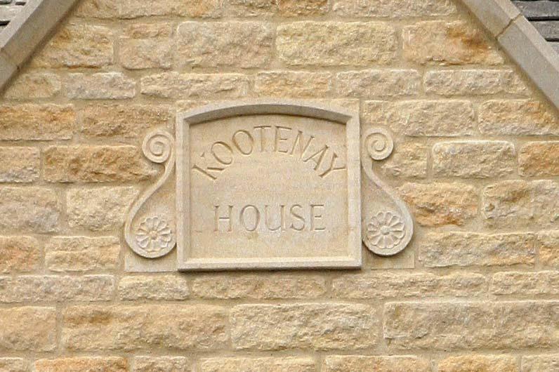 limestone name date stones