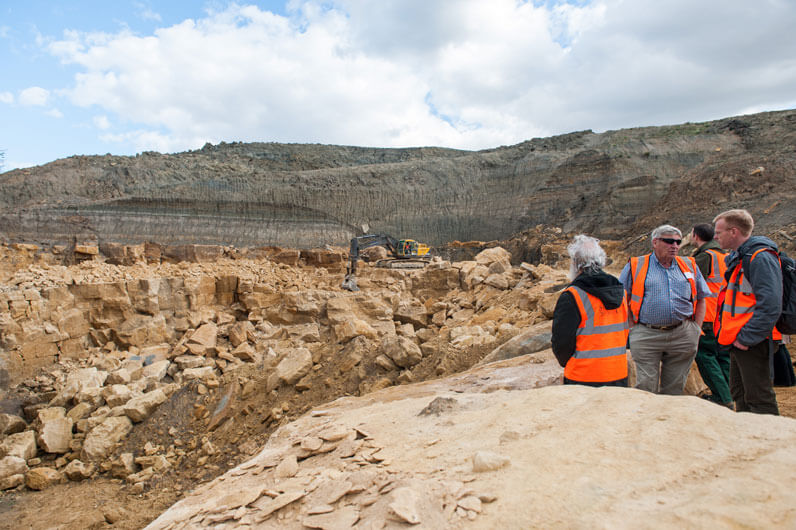 viewing clipsham quarry