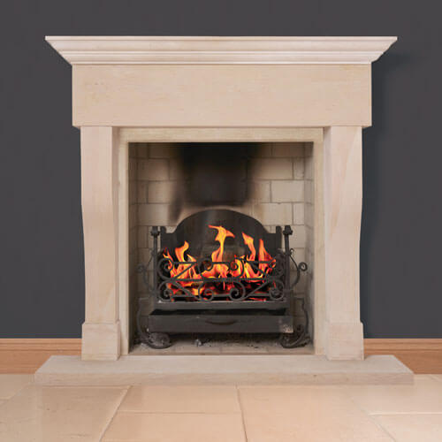 burghley fireplace