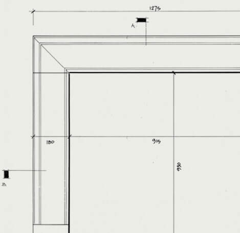 the elton fireplace cad