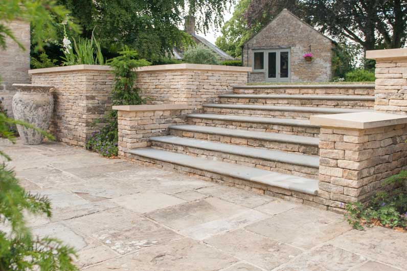 stone patios and paving