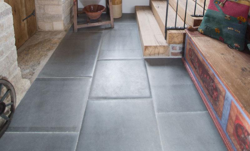 Charlbury Blue Stone Flooring hallway 2