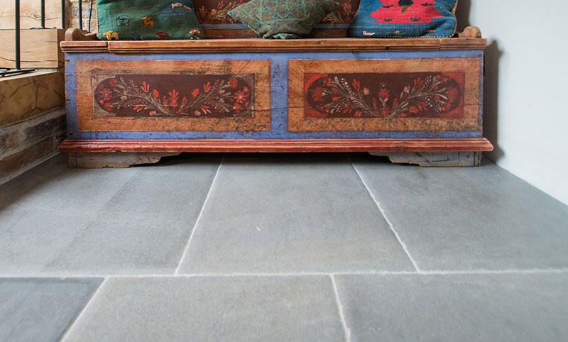 Charlbury Blue Stone Flooring hallway