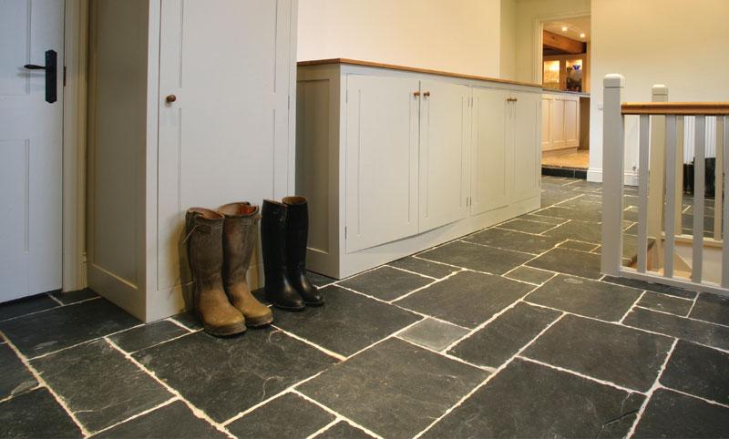 buckminster slate hallway