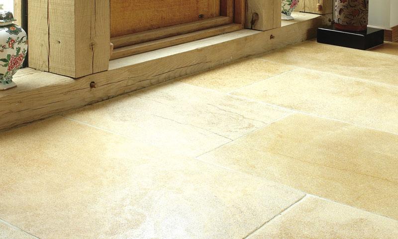 colonial gold limestone flooring