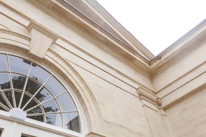 limestone orangery detail
