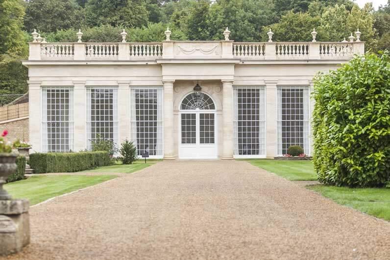 limestone orangery front