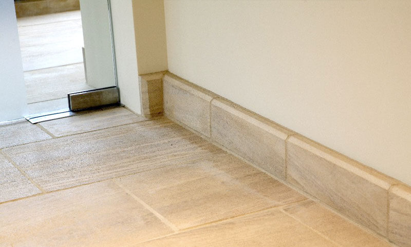 limestone skirting boards