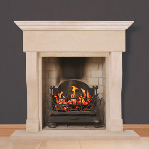 burghley fireplace 1
