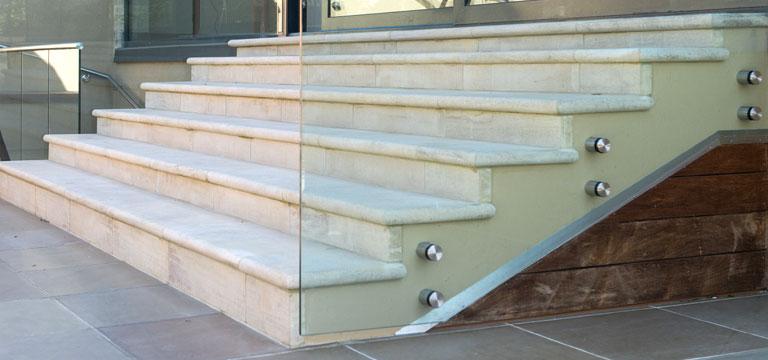 bespoke stone staircase styles