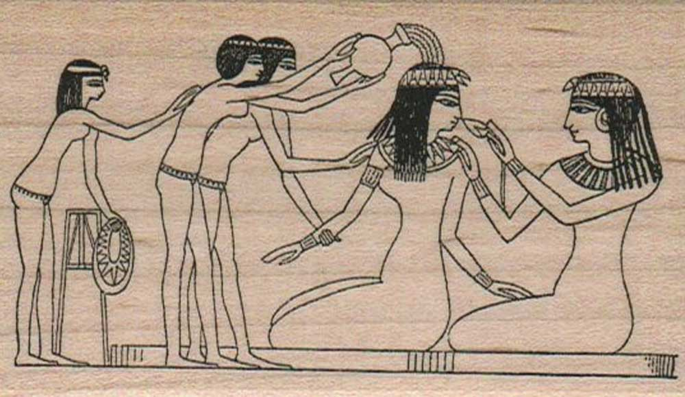 egyptian bathers