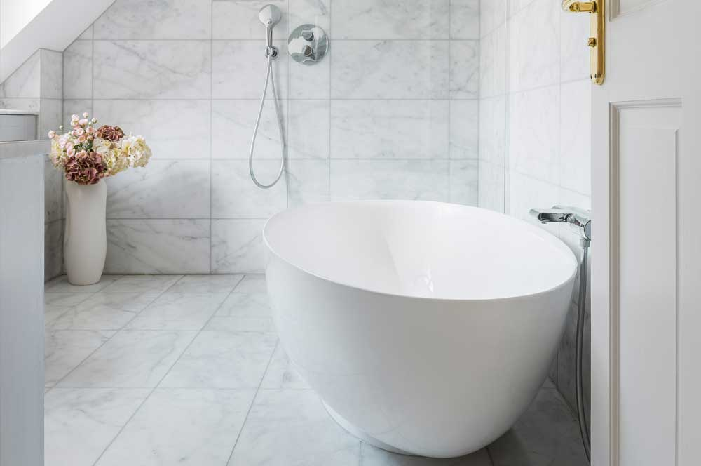 marina white bathroom