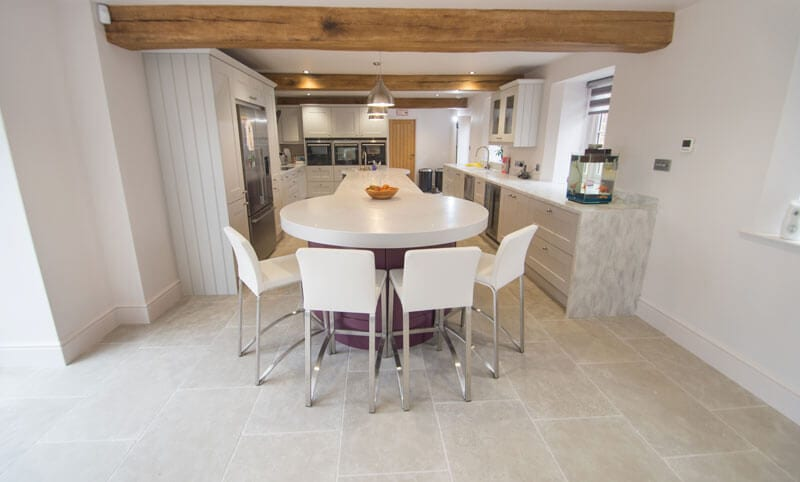 normandy grey kitchen