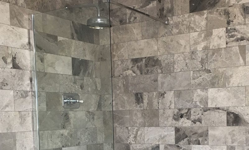 ottoman grey shower