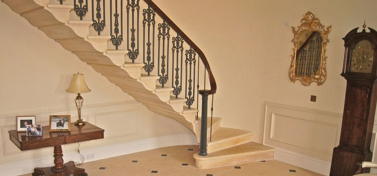stone staircases variety styles