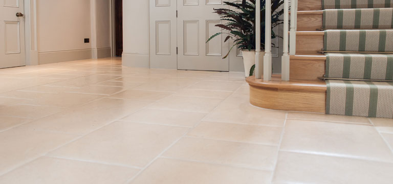 underfloor heating natural limestone flooring