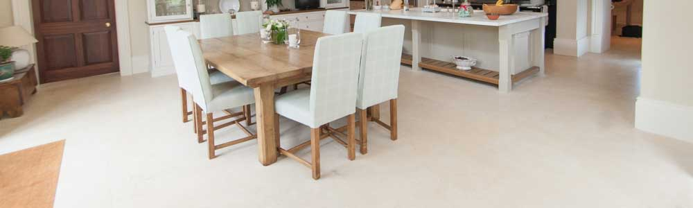 underfloor heating saves space