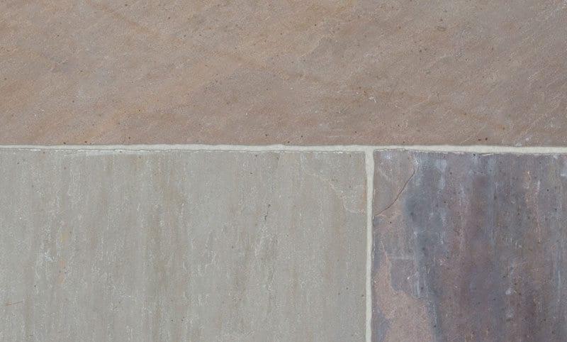 ash buff opus limestone paving pattern