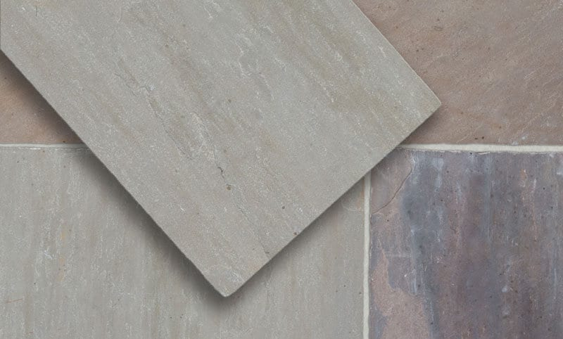 ash buff opus limestone paving