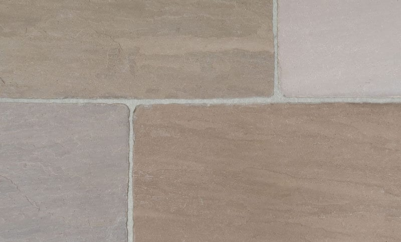 heritage autumn limestone paving detail