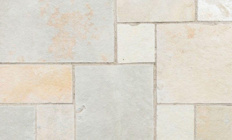 heritage holden opus limestone paving pattern