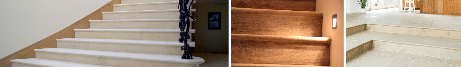 bespoke stone staircases