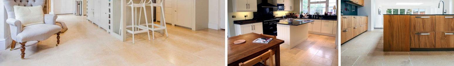 natural stone flooring kitchens