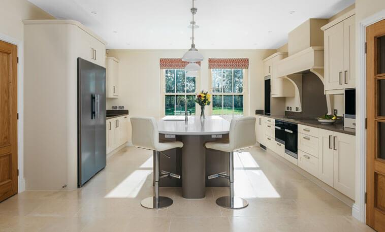 Kitchens Walcott honed